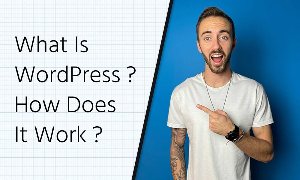 what is wordpress how does wordpress work