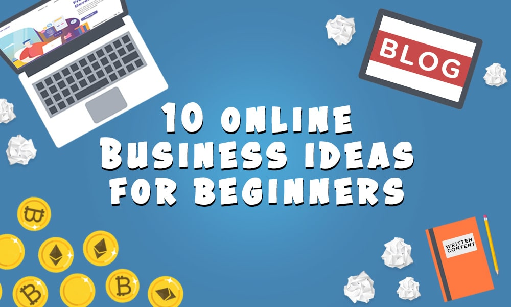 10 Online Business Ideas For Beginners Thumbnail