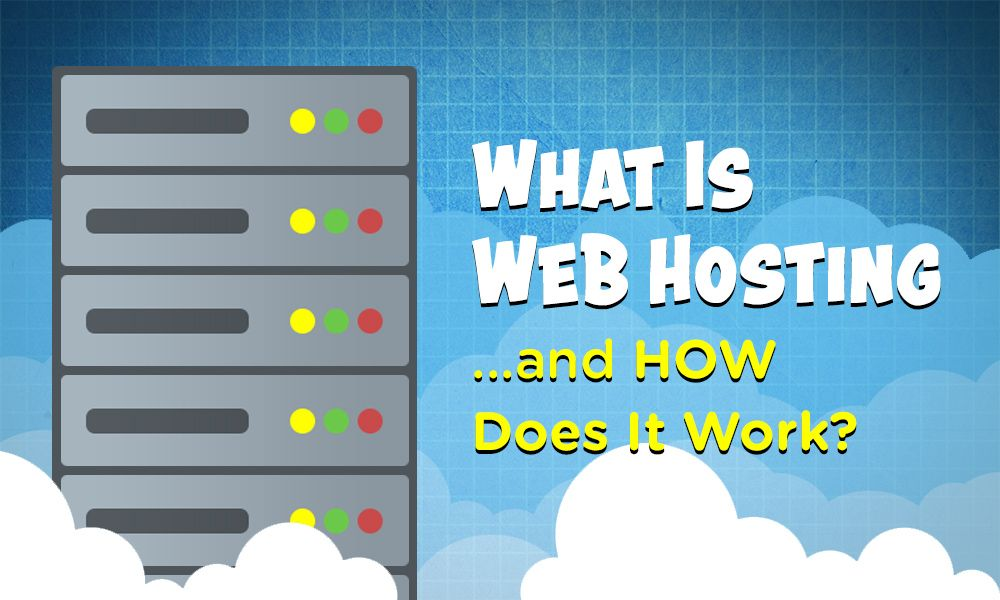 what is web hosting featured image