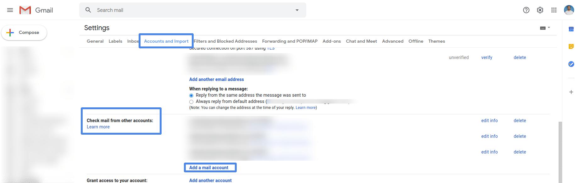free custom email address gmail add account