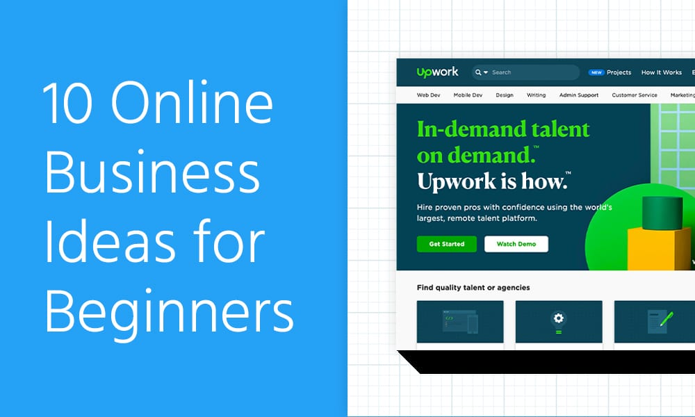 10 Online Business Ideas for Beginners [2021]