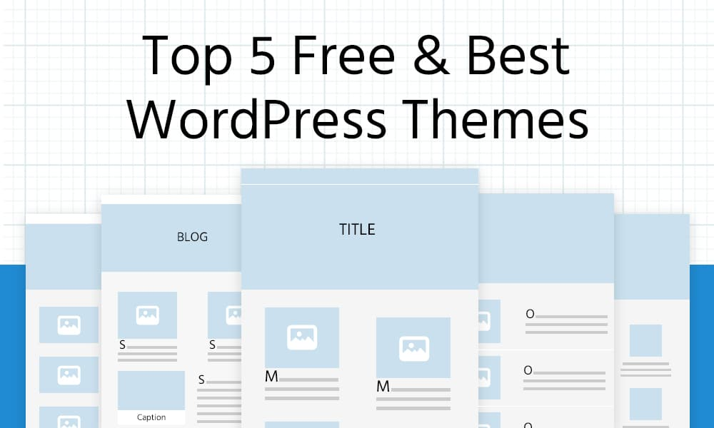 Top 5 Best Free WordPress Themes for Beginners [2021]