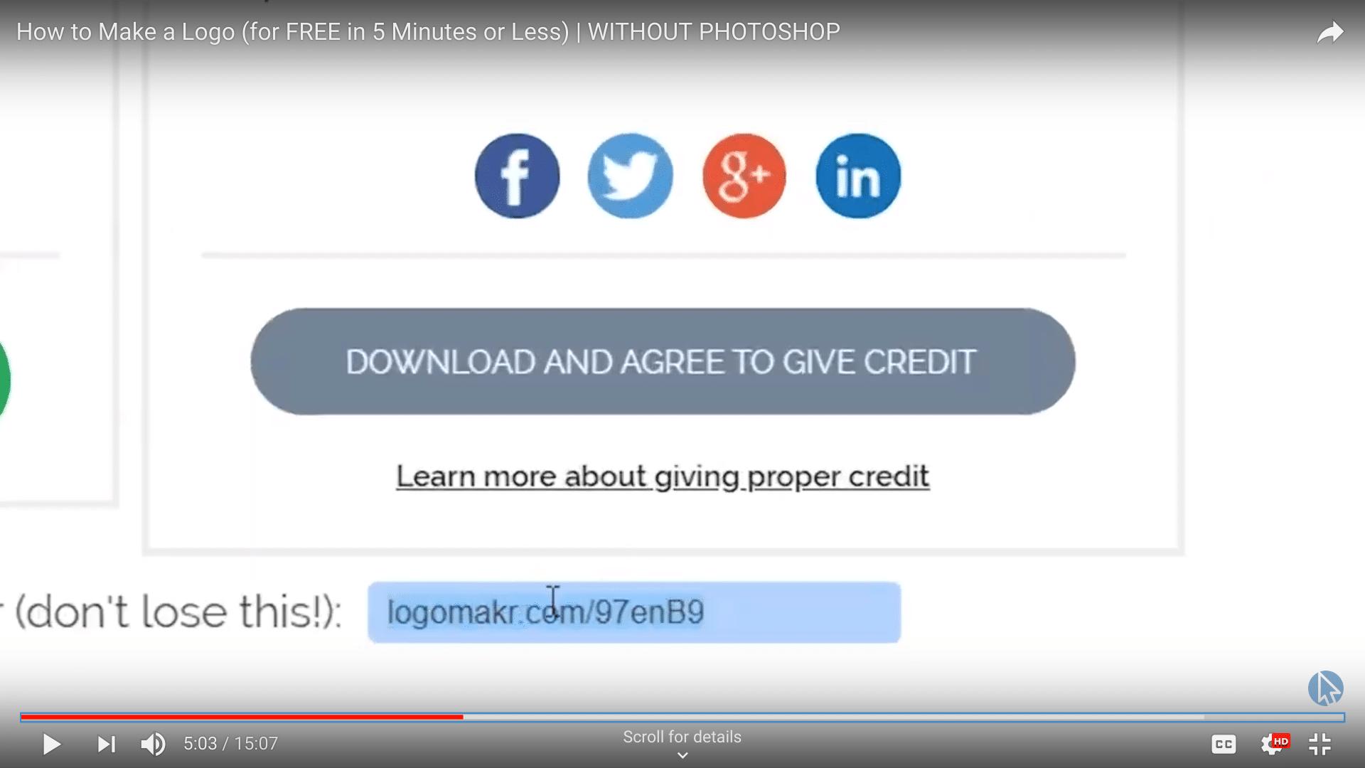 logomakr re-edit link