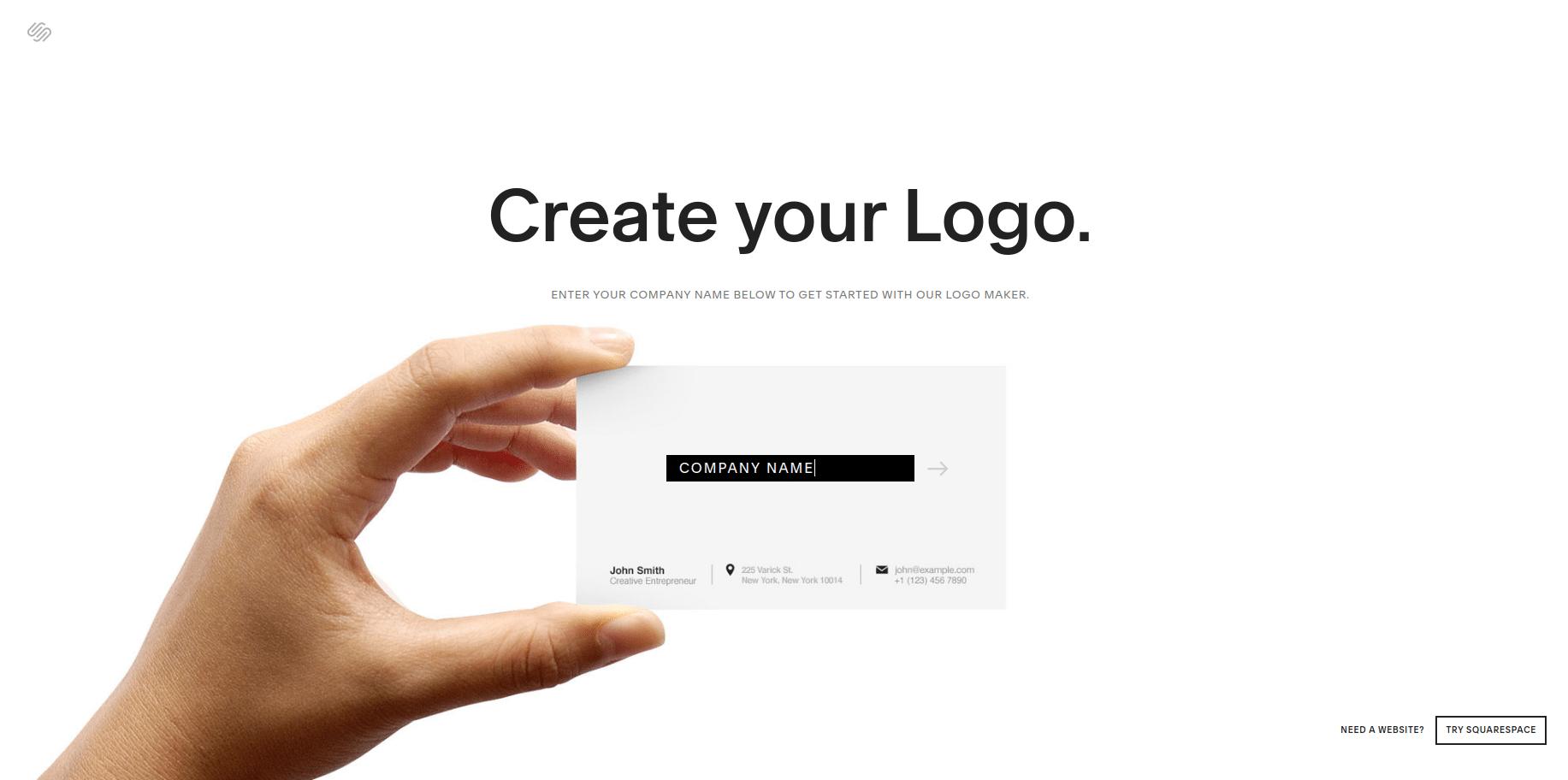 squarespace logo creator free logo design software