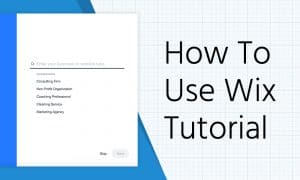 how to use wix tutorial
