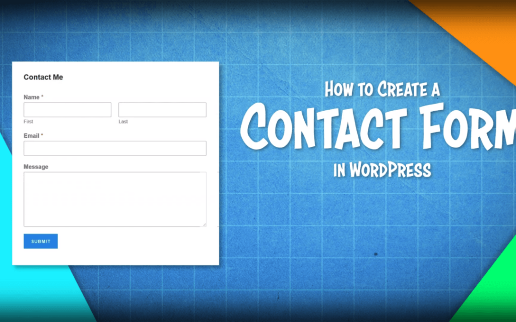 How to Create a Contact Form in WordPress | For FREE! <br /> <span class='secondary-title'>A Simple, Step-By-Step Guide To Creating A Contact Form For FREE</span>