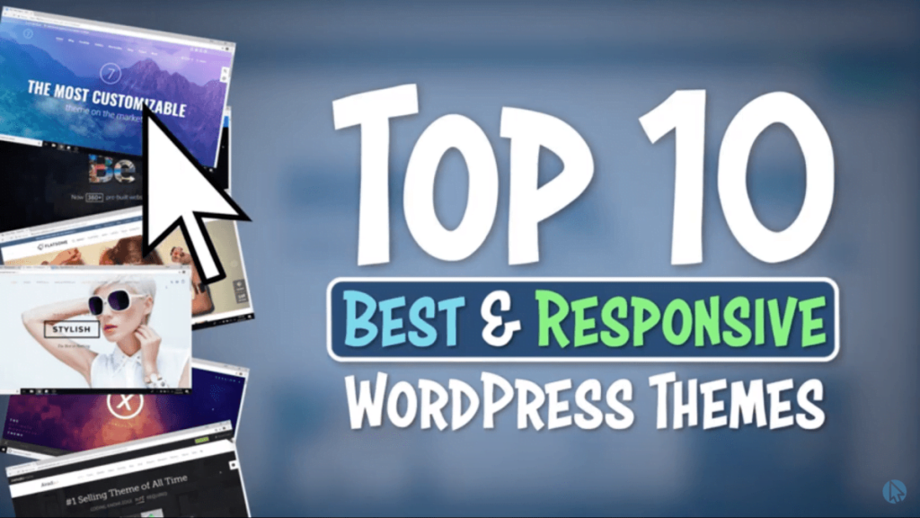 Top 10 Best and Responsive WordPress Themes [2019] <br /> <span class='secondary-title'>A Collection of the Most Popular Premium WordPress Themes</span>