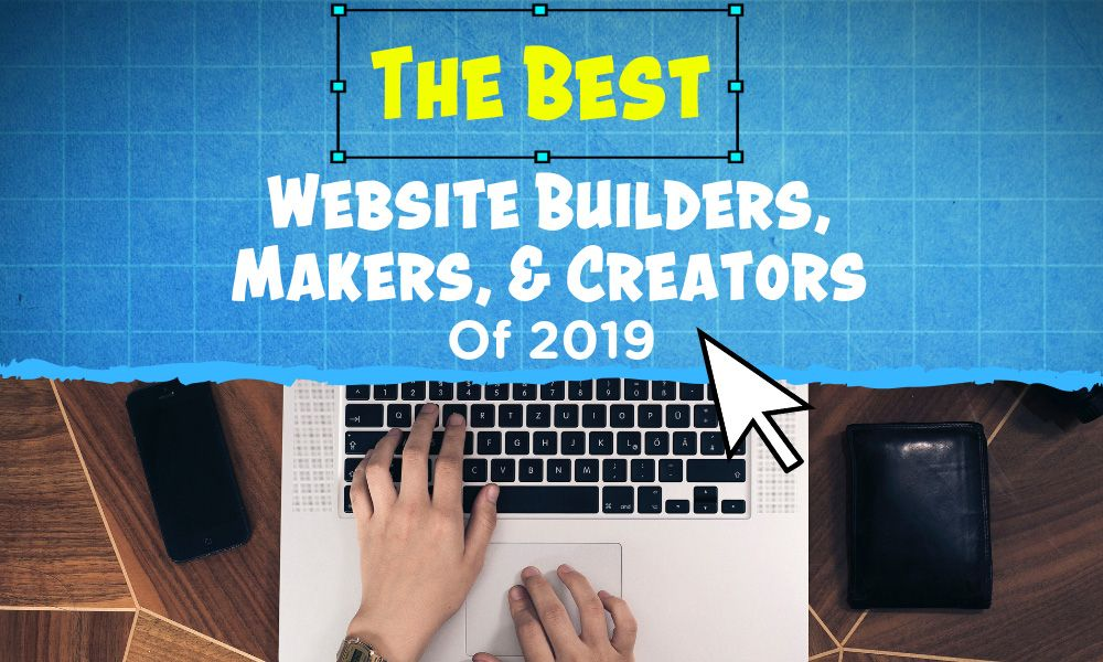 Best Website Builders Featured Graphic