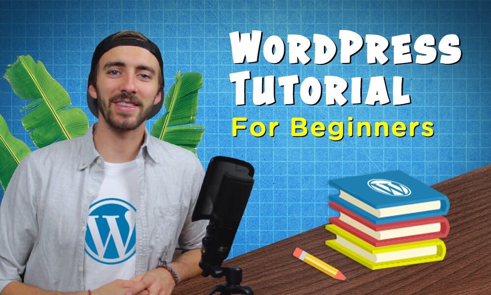 how to use WordPress tutorial featured image