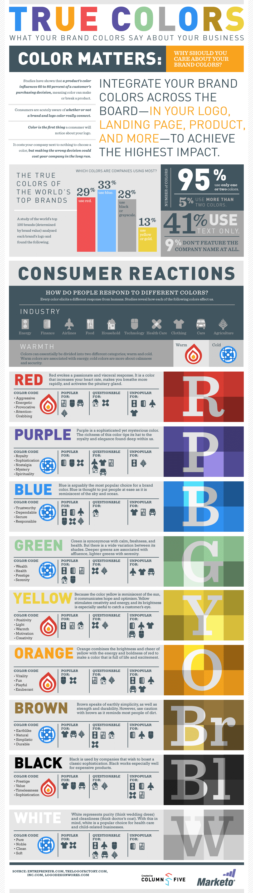 color palette ideas infographic