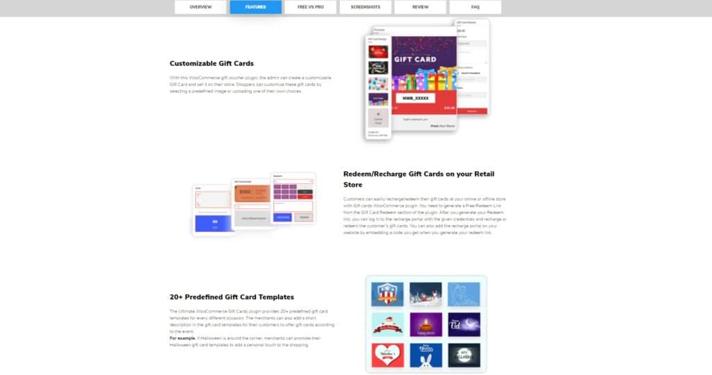 make web better gift cards features best plugins create a pro