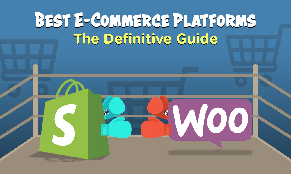 best ecommerce platforms shopify woocommerce boxing