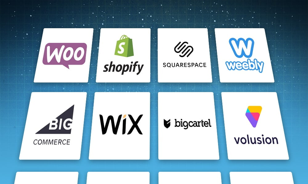 how to choose ecommerce website list of options