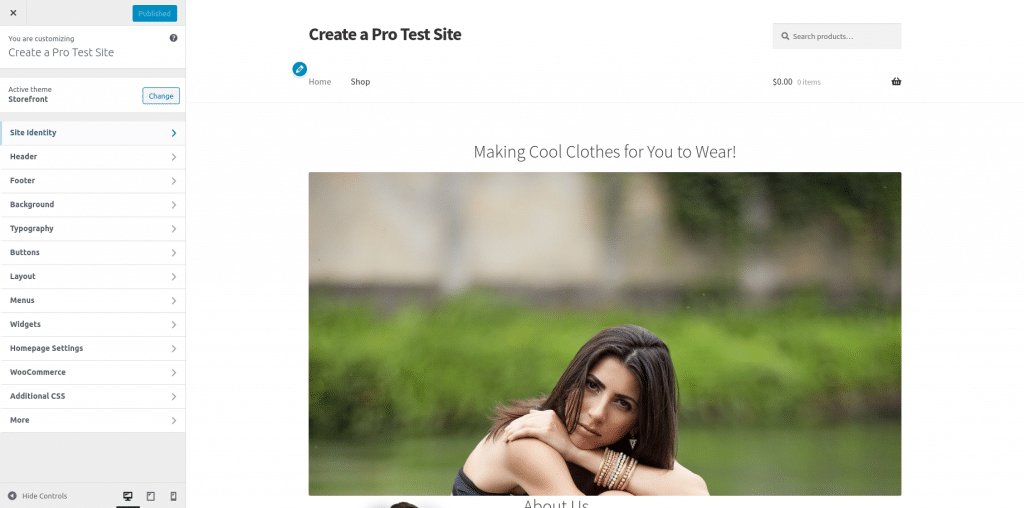 online store builder woocommerce website builder