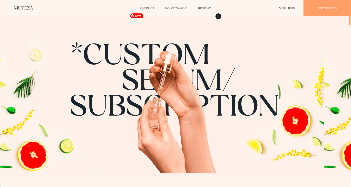 muteza website color schemes examples