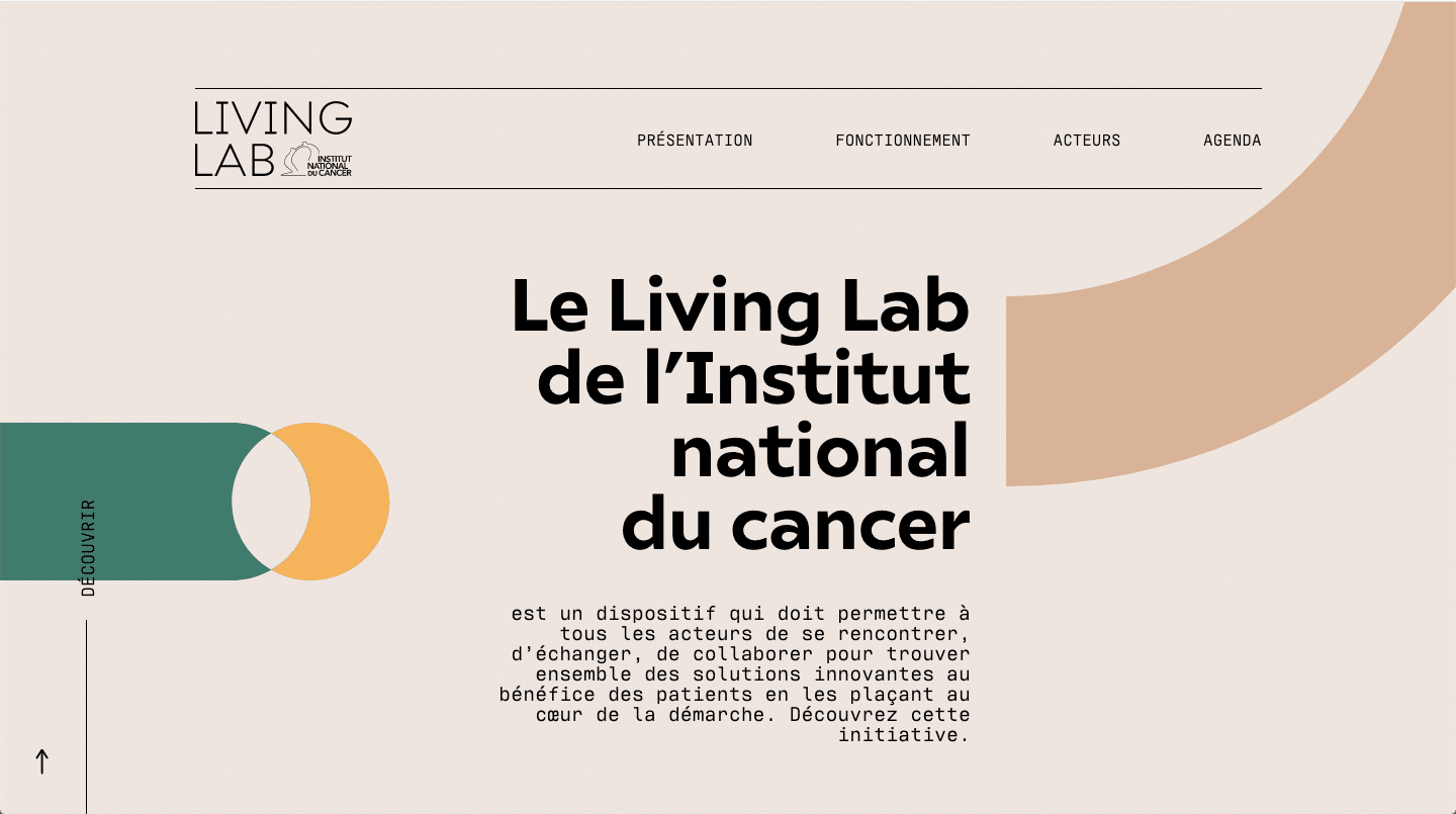 the living lad of the national cancer institute website color schemes examples