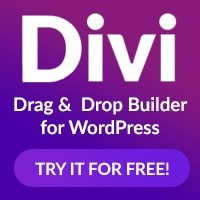 create a pro website recommends divi