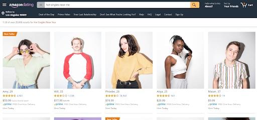 Unusual website amazon dating hot singles near me