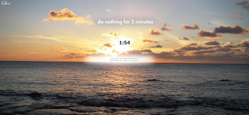 do nothing for 2 minutes satisfying websites