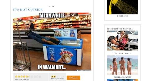 people of walmart freezer man funny websites