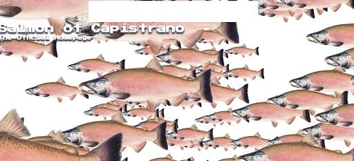 weird websites salmon of capistrano pink