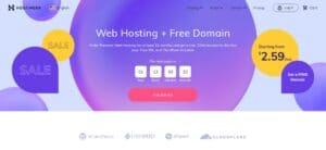 best cheap web hosting hostinger homepage